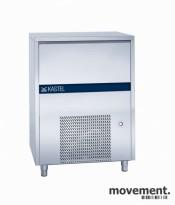 Isbitmaskin, Kastel Ice KP100/60, høykapasitetsmodell, 100kg/døgn, NY/UBRUKT