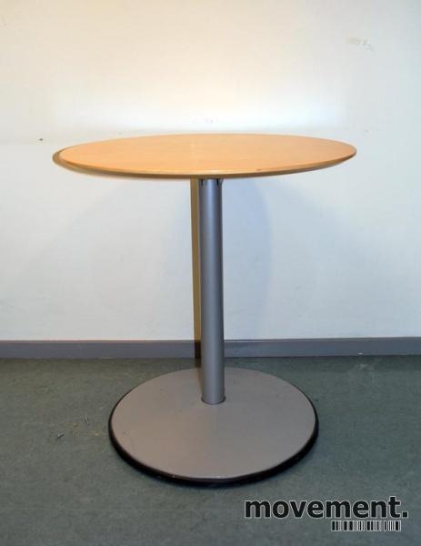 IKEA Albäck rundt bord i bjerk grått, u00d8=70, 74 cm hoyde, pent brukt