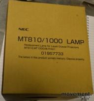 NEC Prosjektor-pære MT810/1000 lamp, NY I ESKE