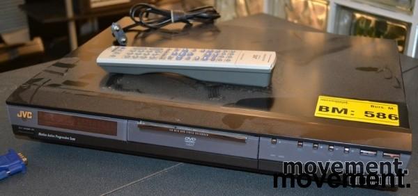 JVC DR-M10 DVD-opptaker i sort, pent brukt