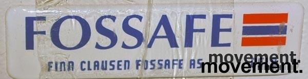 Fossafe 3skuffers arkivskap for hengemapper, 102 cm høyde, pent brukt bilde 4