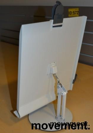 Manuskriptholder / konseptholder A4 fra Luxo, bordmodell med fot, pent brukt bilde 8