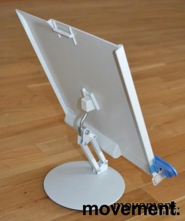 Manuskriptholder / konseptholder A4 fra Luxo, bordmodell med fot, pent brukt bilde 4