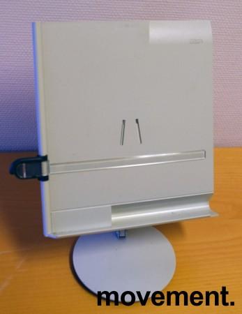 Manuskriptholder / konseptholder A4 fra Luxo, bordmodell med fot, pent brukt bilde 5