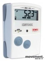 KIMO Kistock KH-100-AO Datalogger for temperatur og fuktighet, pent brukt