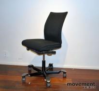Håg H05 5400 kontorstol i sort stoff (EXR009), pent brukt