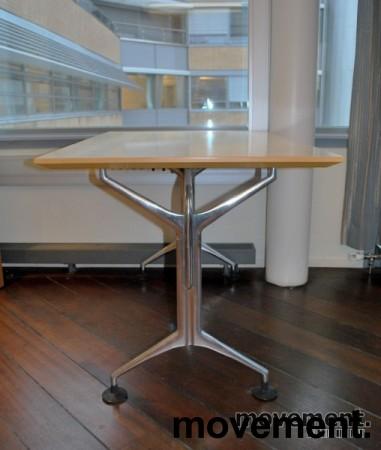 Oken kompakt møtebord / rektanguært skrivebord i bjerk, 120x80 cm, pent brukt bilde 5