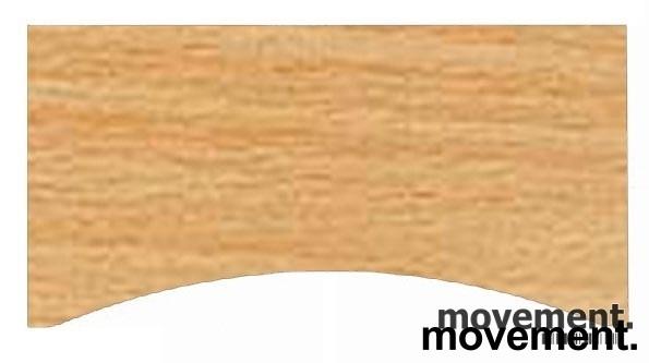 Bøk laminat bordplate for skrivebord med innsving/magebue 180x90cm, NY/UBRUKT bilde 2