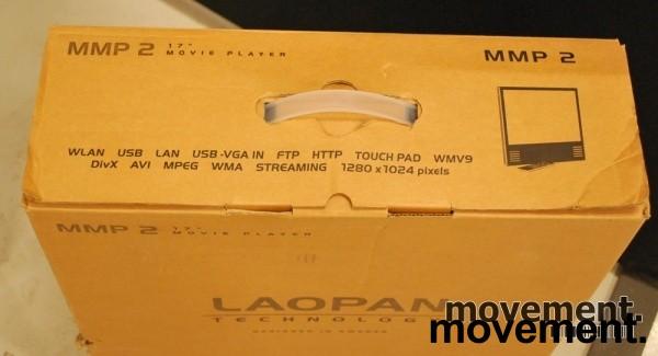 Laopan Public Display 17toms med Wlan/LAN/Mediaplayer innebygget, pent brukt bilde 3