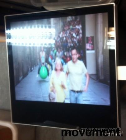 Laopan Public Display 17toms med Wlan/LAN/Mediaplayer innebygget, pent brukt bilde 4