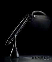 Luxit Airone, lekker bordlampe i sølv, NY I ESKE