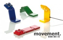 Liten design-bordlampe med LED, Luxit TopFour i flere farger, NY/UBRUKT