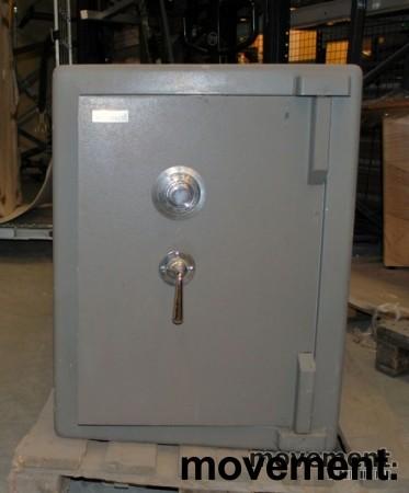 Chubbsafe S 2 W 7/1 liten safe med kodelås, åpen dør, 74 cm høyde, pent brukt bilde 2