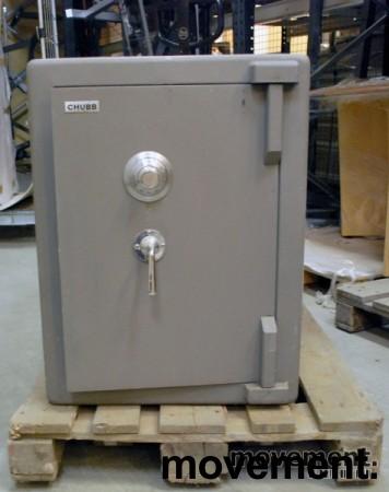 Chubbsafe S 2 W 7/1 liten safe med kodelås, åpen dør, 74 cm høyde, pent brukt bilde 1