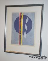 Eva Degenhardt [Code Poetri], 2006, signert litografi, pent innrammet