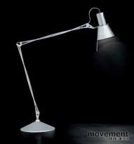 Luxit Viviana Bordlampe, sort blank, med bordbrakett, 60W E27, NYE I ESKE