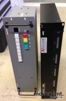 Extron System 8 Plus kontrollboks og Axcent3 Pro Controlframe, pent brukt