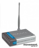 D-Link DWL-2200AP AirPremier 2,4Ghz Wireless AP with POE, pent brukt