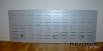 Bordskillevegg /pultskillevegg i grått 170 cm bredde, pent brukt