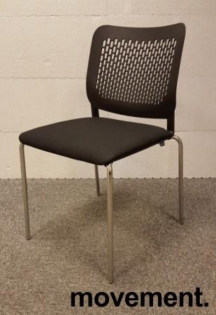 Konferansestol i sort / krom modell:Wait, NY bilde 1