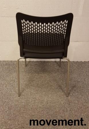 Konferansestol i sort / krom modell:Wait, NY bilde 4