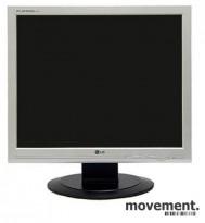 Flatskjerm til PC, LG Flatron L1917S 19toms, VGA-inn, 1280x1024, pent brukt