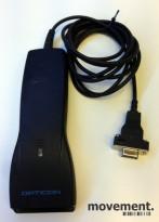 Opticon Strekkodeleser OPL-6735-WEDGE, sort, RS232C/Seriell, pent brukt