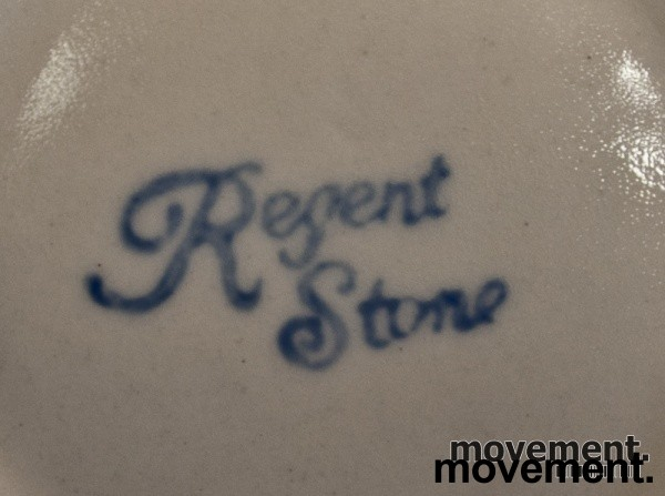 Regent Stone malt tekanne i steingods / keramikk, pent brukt bilde 3