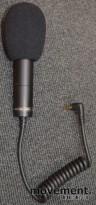 Audio-Technica Pro 24-CM Mikrofon, for bruk med kamera, pent brukt