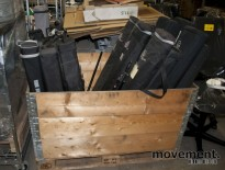 Diverse messemateriell / rollups / roll ups, 25 stk selges samlet, pent brukt