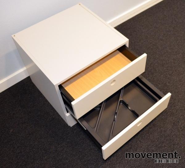Innmat / skuffer til ISKU skap med 3 skuffer, 36cm bredde, 36cm dybde, 32cm høyde, pent brukt bilde 3
