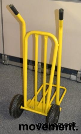 Sekketralle 250kg, gul farge, NY OG UBRUKT bilde 3