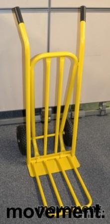 Sekketralle 250kg, gul farge, NY OG UBRUKT bilde 2