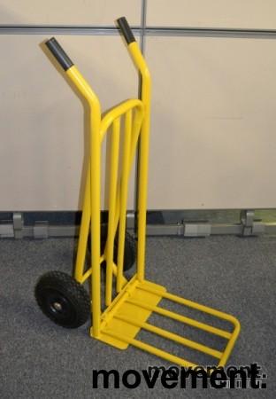 Sekketralle 250kg, gul farge, NY OG UBRUKT bilde 1