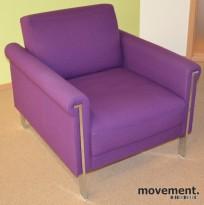 Lekker 1seter loungestol fra Perobell, serie Ginger by Jorge Pensi, pent brukt