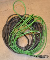 Varmekabel KIMA 11W for takrenner etc, ca 10meter + lang strømkabel, pent brukt