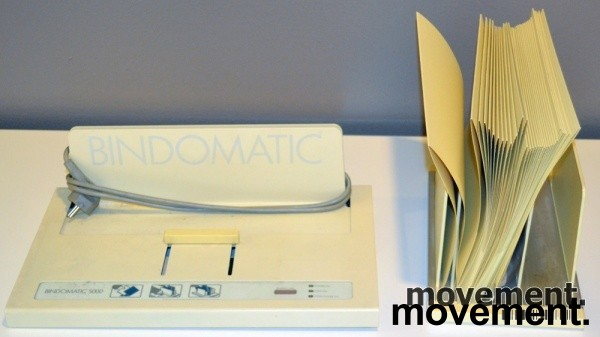 Innbindingsmaskin for liminnbinding, Bindomatic 5000, pent brukt bilde 2