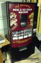 Salgsautomat for iskrem og varmmat (!), brukt, NY PRIS