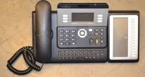 Alcatel 4029 telefonapparat med Smart Display Module (Sentralbordpanel), pent brukt