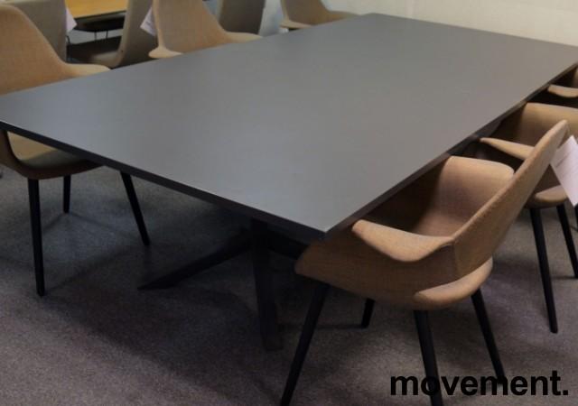Lammhults FUNK Møtebord i grått, 2 delt, 280x140cm, pent brukt bilde 2