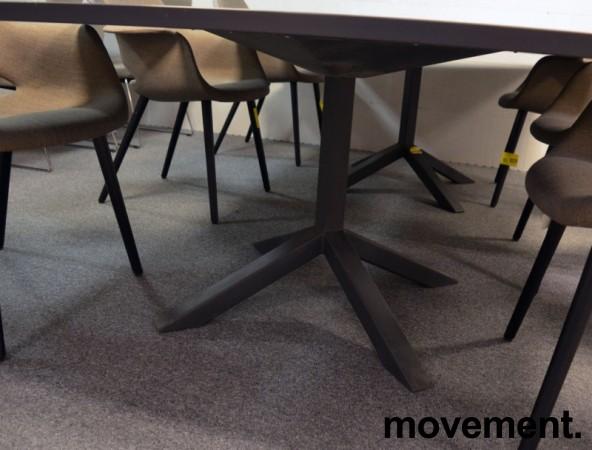 Lammhults FUNK Møtebord i grått, 2 delt, 280x140cm, pent brukt bilde 3