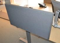 EFG Divide bordskillevegg / bordskjerm i grått, 90 cm bredde, 48cm høyde,  pent brukt