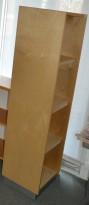 EFG smal ringpermreol (40cm bredde) i bjerk, 157cm høyde, pent brukt