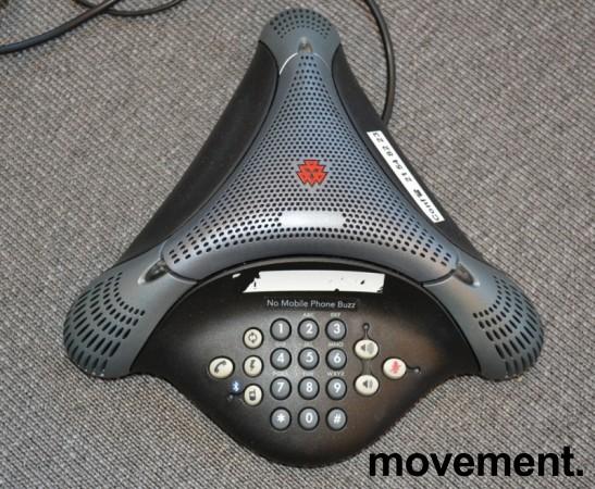 Konferansetelefon Polycom VoiceStation 500, analog med BlueTooth, pent brukt bilde 3