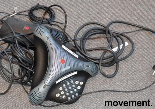 Konferansetelefon Polycom VoiceStation 500, analog med BlueTooth, pent brukt bilde 2