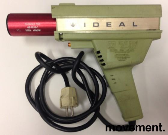 Kul retro 60/70talls varmluftpistol fra Ideal USA, pent brukt bilde 1