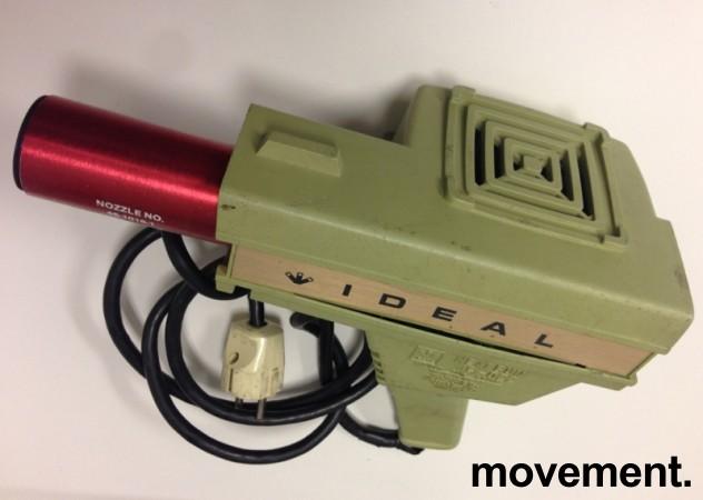 Kul retro 60/70talls varmluftpistol fra Ideal USA, pent brukt bilde 2
