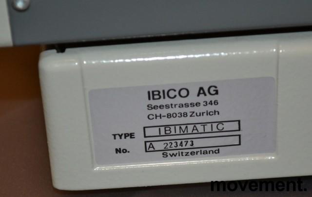Innbindingsmaskin fra Ibico, Sveits, modell IBIMATIC, pent brukt bilde 2
