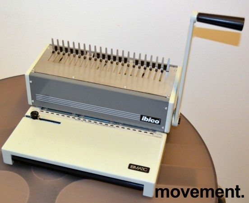 Innbindingsmaskin fra Ibico, Sveits, modell IBIMATIC, pent brukt bilde 1
