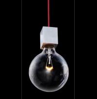 Illumina Element S1, dansk designtaklampe med 1 store pære, pent brukt